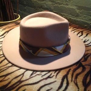 NEW! wYETH wool silk scarf hat
